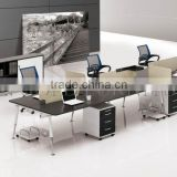 High Classy Black & White Modern looks Call center Cubicles for Small Office ( SZ-WS418)