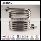 AURON/HEATWELL cooling heating exchange tube coil/fin heat exchange pipe/fin heat exchange shell and coil