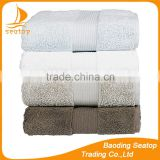 white set Luxury Hotel & Spa Bath Towels for hotel