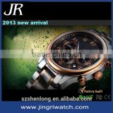private label watch manufacturer brand own logo hand watch automatic luxury bracelete sapphire swiss watch