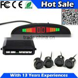 Auto Parking Sensor System 12V LED Display Indicator Car Reverse Radar + 4 PCS Sensors (Many Color Option)