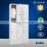 6 doors steel storage locker steel or iron wardrobe design steel closet