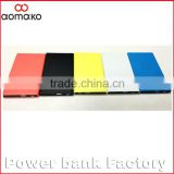 W280 ultra thin 6mm thickness lithium polymer battery card power bank private polymer 3000mah power bank