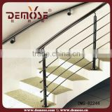 customized wall bracket for handrail and plexiglass stair handrail price