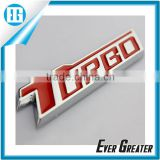 custom best quality plastic chrome car emblem lettering sticker metal badge for car metal chrome emblem