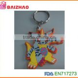 custom keyring keychain new design fashion lovely custom carton gift keychain