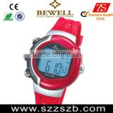 2015 Latest China pulse watch,heart rate monitor, wholesales pulse watch with chronograph and pedometer