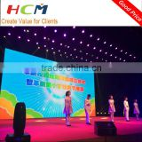 stage background mobile led display screen/indoor outdoor led video wall price for concert