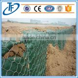 Heavy Duty galvanized Hexagonal wire mesh gabion box for Dam protection, construction gabion retaining wall