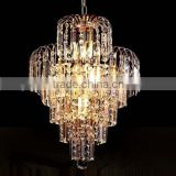 K9 crystal iron base material crystal hanging pendant lights and lighting modern for sale                                                                         Quality Choice