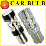 High Power Led light High intensity S25 1156/1157 80W Crees Led light bulbs,led brake light for cars