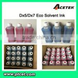 Acetek Brand eco-sol max ink for polar X6-2600 printer