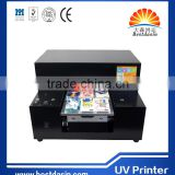 A4 printing machine/case printer/mobile phone cases uv flatbed printer price phone 6 leather case printing machine mobile cover