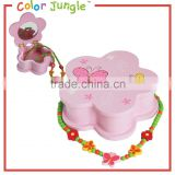 Mirror box wholesale mirrored jewelry box, for kids standing mirror jewelry box