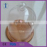 Cheap good quality clear glass bell jar