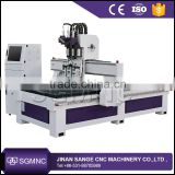 Chinese Multi heads 1325 woodworking cnc router / multi spindle wood drilling machine