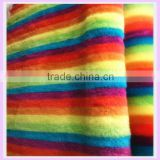 13mm short pile polyester acrylic zebra upholstery fabric jacquard stripe knitting fabric many color china supplier fabric