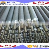 Aluminium Scaffold Pipe 6082 t6 Aluminium Extruded Fin Tube for evaporator and heat exchanger
