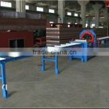 horizontal wrapping machine with Compound paper tape/knit tape/anti-rust tape/waterproof tape/stretch film
