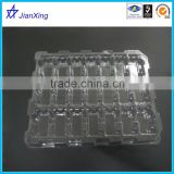 Customize large plastic tray Esd Electronic Component Black Blister Packing Tray