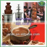 Professional stainless steel chocolate fountain machine