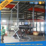 electric hydraulic car elevator portable parking lifter