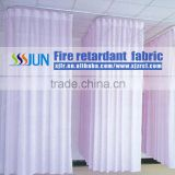 2015 Factory Direct Sale High-grade beautiful Flame retardant fabric Medical partition curtain