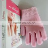 Wholesale Custom Skin Care Product Foot Care Hand Care Spa Silicone Gel Socks&gel Gloves
