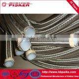 Teflon Hose / PTFE Hose With SS304 Braiding Cover