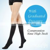Far Infared Nylon Girls/Woman Medical Compression Knee High Socks