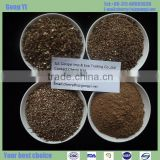 expanded vermiculite for firebrick, insulating cement material as heat protection sheild/exfoliated vermiculite
