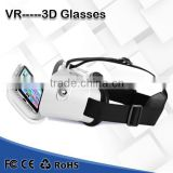 2016 new products vr box 3d plastic glasses With compact portable design