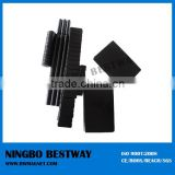High quality black epoxy coating neodymium magnets/black color magnet