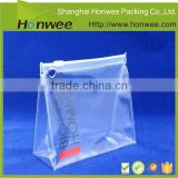 china online shopping professional felt clear cosmetic bag