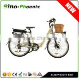 "Classic style CE approved 26"" Aluminum alloy 36V Lithium battery ebike ( PN-TDF11Z )"