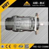 earthing moving gear pump 705-52-30010 PC650 hydraulic gear pump commercial hydraulic gear pump