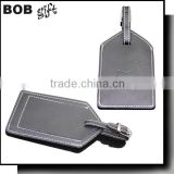 2014 customized hot selling leather luggage tag