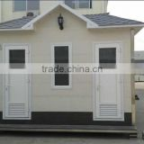 wholesale Prefab Portable toilet in park/ portable toilet price in prefab home/ luxury public mobile toilet with ISO