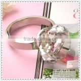 Wholesale Crystal Diamond Ring Paperweight For Promotional Gifts
