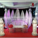 2016 hot sale elegant wedding backdrops for sale / wedding mandap new design / indian mandap wedding decoration