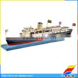 Best sculpture customized ship scale model miniature boat