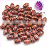 Wholesale Natural Barrel Shaped All Types of Wood Beads forJewelry Making
