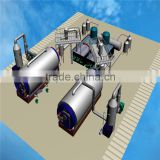 Waste Tyre/Plastic Oil Pyrolysis Plant With High Diesel Oil Yield