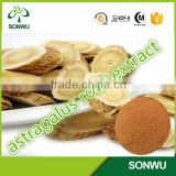 Factory bulk supply natural Radix Astragali Extract Astragaloside /astragalus saponin 20% with best price