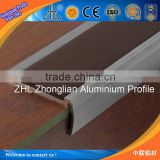 Hot and new aluminium profile for tile edging strip with anodized aluminium panel
