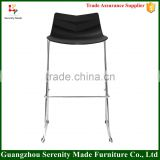 Newest design plastic seat bar stool high chair