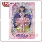 Mini plastic pvc wholesale fairy doll gift