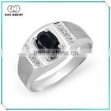 High Quality Classic Boys Silver Rings