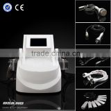 2014 vacuum rf ultrasound physiotherapy EMS function deep cleansing face lifting home beauty equipment