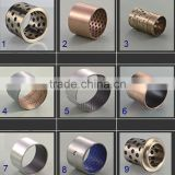 bushing bearings diecast 1/12 all kinds of steel wrapped du bushing rolled bronze bushing with graphite insert jdb brass bush